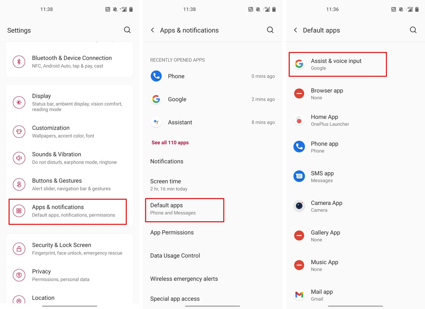 disable google assistant on home button