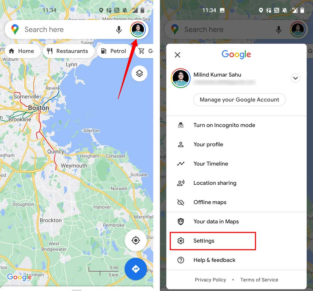 play voice over bluetooth google maps