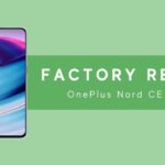 factory reset oneplus nord ce 5g